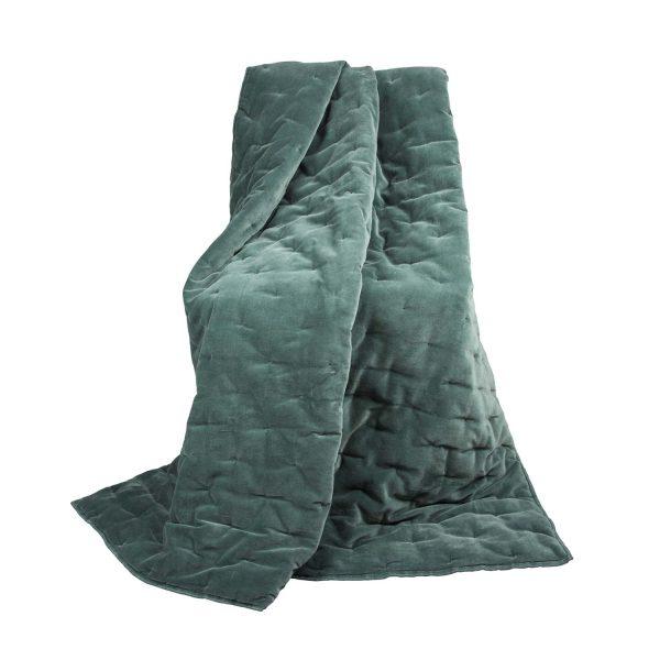 plaid Velvet Touch 130×180 cm groen