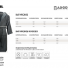 Maat Tabel – Badjassen The One Towelling – Badgoed.com