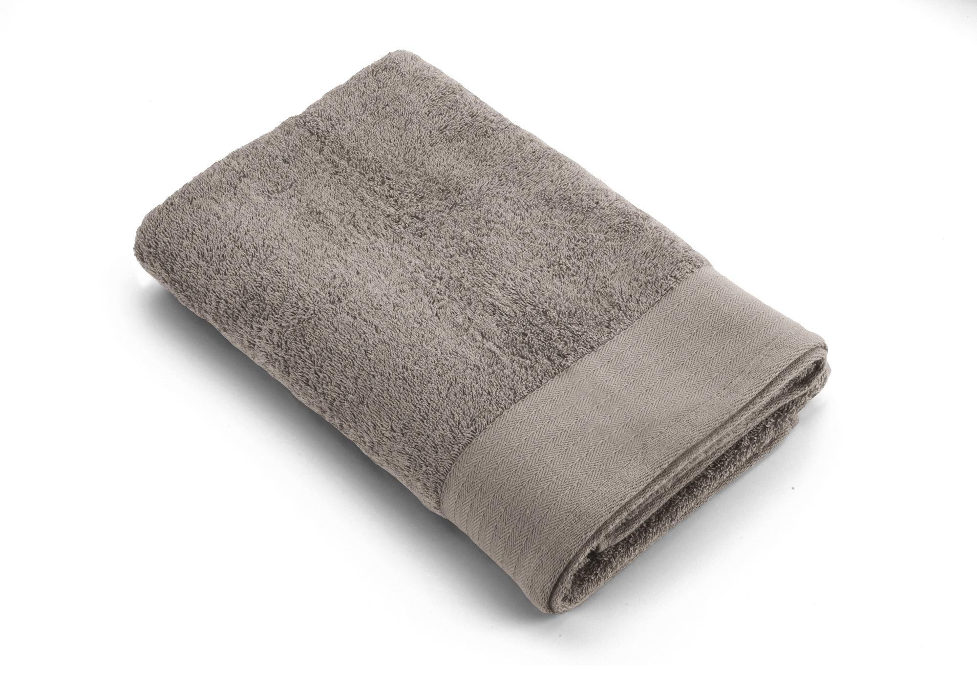 5f38af6ce50 Walra badlaken Soft Cotton - 70x140 cm - Taupe - Badgoed.com