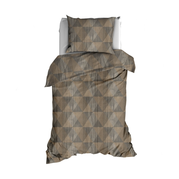 TEXTAP Topic flanel taupe 1P HR