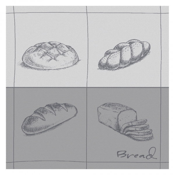 DDDDD-Bread grey TT topshot